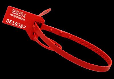 Hydraseal, adjustable plastic seal