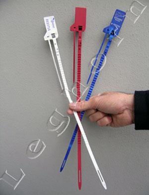 hydraseal, adjustable plastic seals