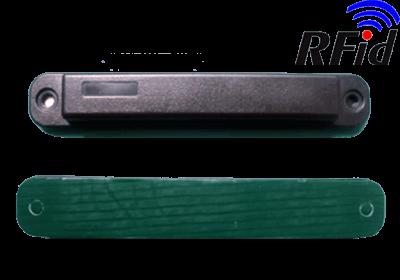 KONTEJNEROVÝ RFID KOVOVÝ ŠTÍTEK UHF TS10