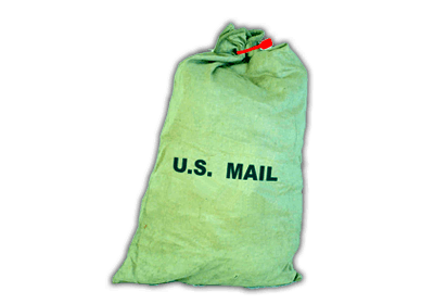 CANVAS POSTAL SACK